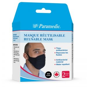 washable black masks