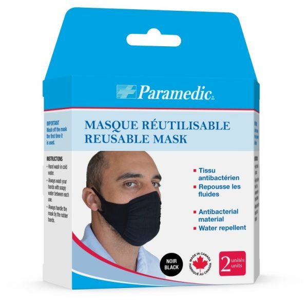 washable black masks
