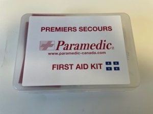 First Aid Kit Cnesst Approved (Quebec, 2021) 25 employees and less - Paramedic Canada